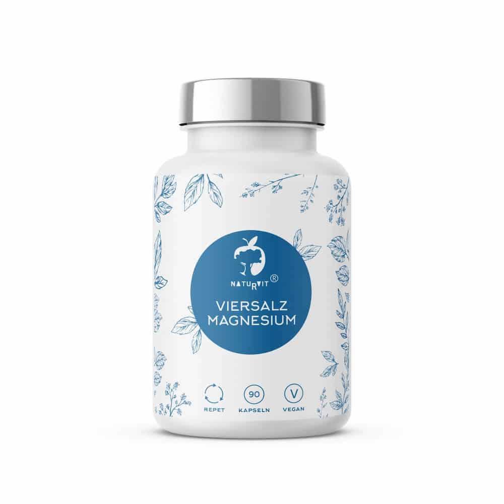 Naturvit Viersalz Magnesium