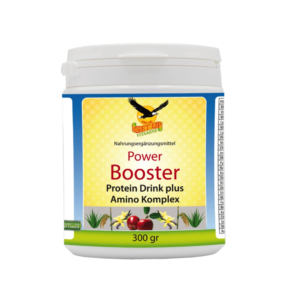 Power Bbooster Protein Drink plus Amino Komplex