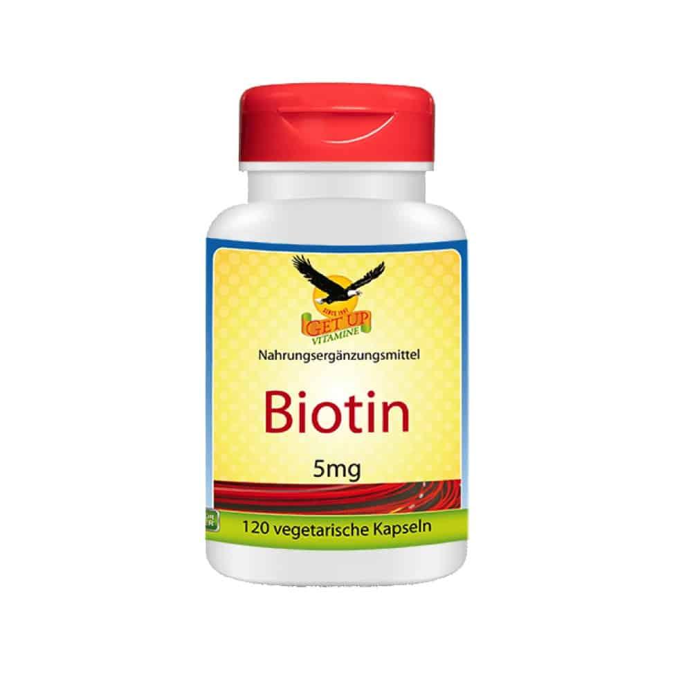 Biotin Kapseln Get Up