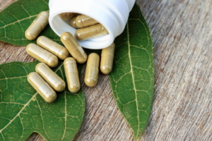 51395690 - herbal medicine in capsules